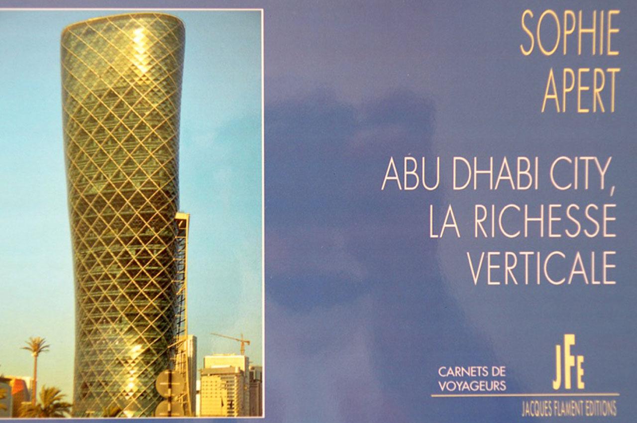 1 ère de couverture Abu-Dhabi