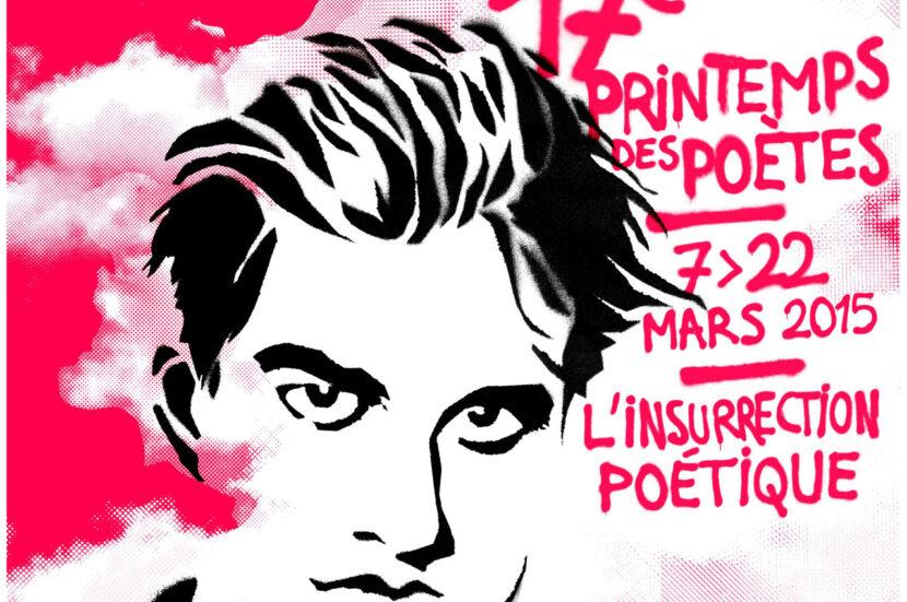 Affiche du Printemps des Poëtes