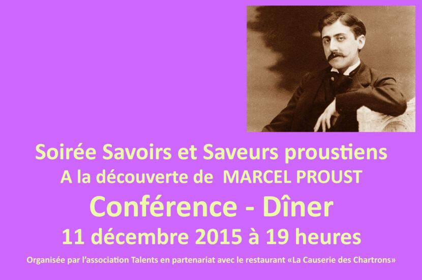 Conférence sur Marcel Proust