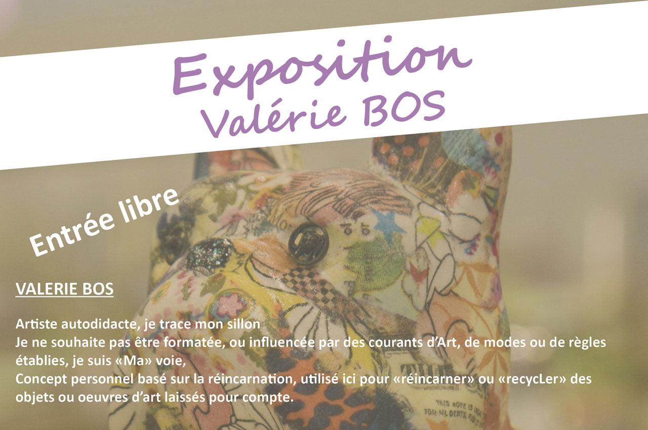 Exposition de Valérie Bos