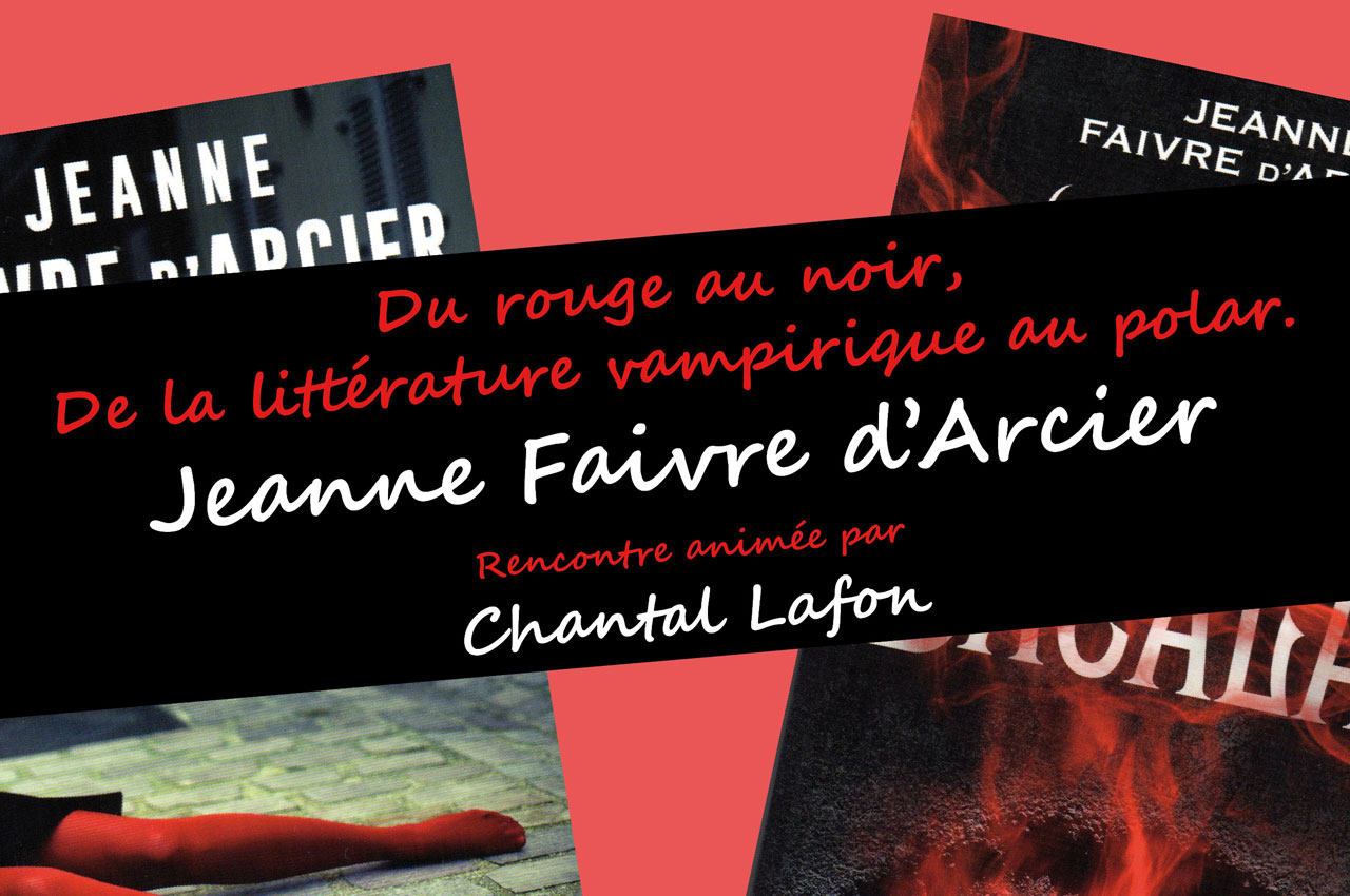 Dédicace Jeanne Faivre d'Arcier
