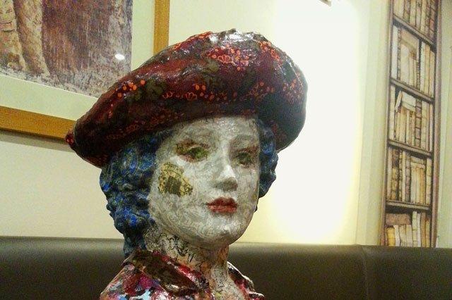 Exposition de sculpture