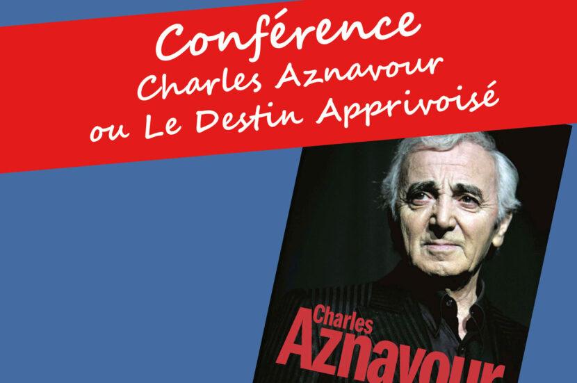 Bandeau de la Conférence de Charles Aznavour