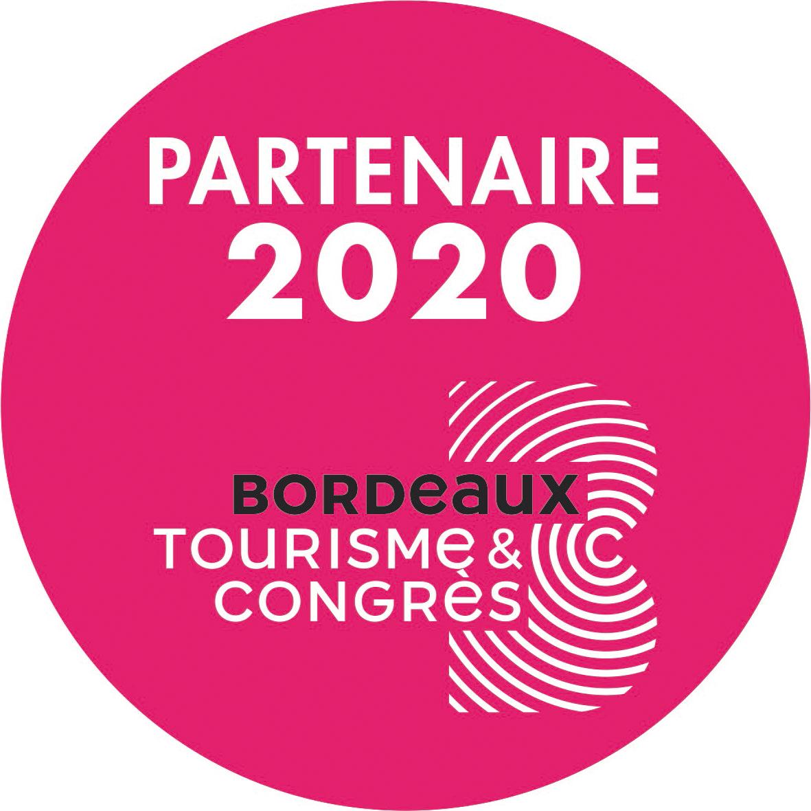 Logo Partenaire de l'Office de Tourisme de Bordeaux