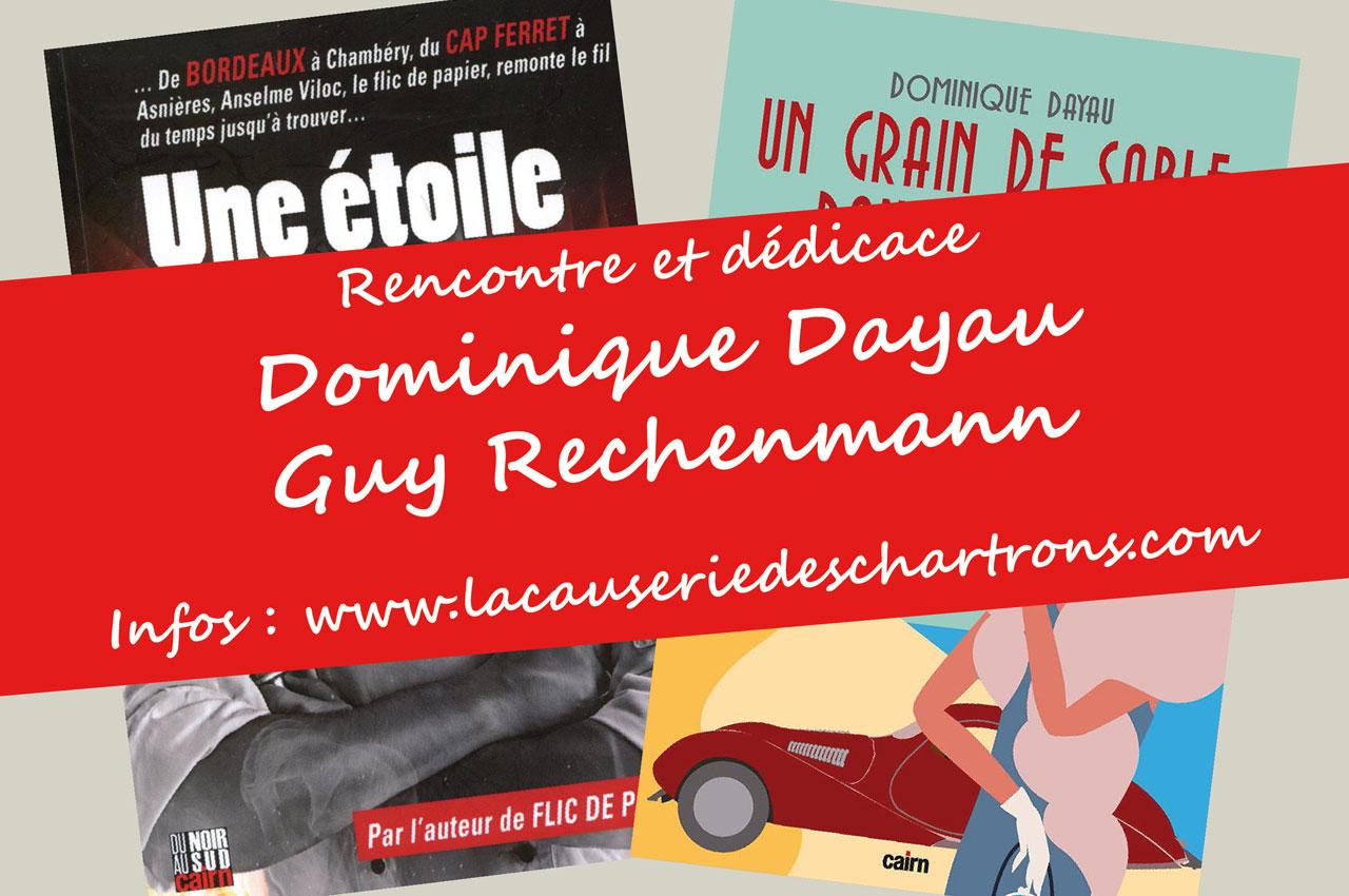Bandeau dédicace Guy Rechenmann et Dominique Dayau