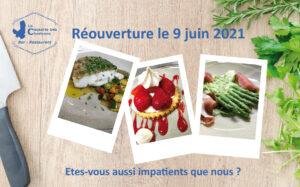 Affiche de la réouverture du mois de juin 2021